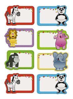 Teacher Classroom Decorations, Classroom Labels, Locker Name Tags, Flash Card Template, Classroom Borders, Nametags For Kids, Spongebob Birthday Party, Christmas Gift Tags Printable, Cartoon Fish