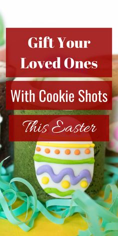 Easter Cookie Shots to Start Your Spring 🌸 Easter Gift For Adults, Easter Baskets For Toddlers, Easter Baskets To Make, Baby Easter Basket, Easter Crafts For Kids, Easter Cookies, Easter Treats, Easter Desserts, Healthy Desserts