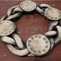 Výsledek obrázku pro adventní věnec z keramiky