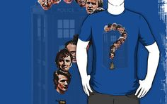 WHO? by Adam de la Mare  This is for all you Doctor Who fans… old and new.  ...Available online at www.brotheradam.com.au ... The best place for funny, cool, parody, geek, topical, music, retro and just plain ridiculous t-shirts!  Enjoy.