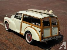 Woody Wagon-- 1970 Morris Minor Traveller-- Patina Finish-- Right Hand Morris Traveller, Mini Copper, Woody Wagon, Buy Used Cars, Morris Minor, Vintage Surf, Automotive News, Wooden Boats, Fast Cars