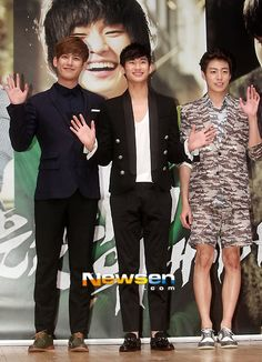 park ki woong, kim soo hyun , lee kyun woo --- covertness/secretly greatly movie fan event