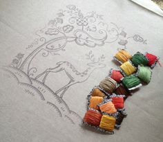 A little hand embroidery