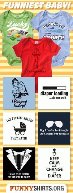 The Top Ten Funniest Baby Onesies