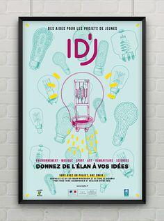 Affiche ID'Jeune by SUPERFRUIT - Illustration - Graphic Design
