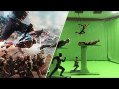 "Avengers Endgame was definitely in store for some amazing VFX. Including a revamped ""Professor Hulk"". Marvel Dc, Marvel Films, Marvel Jokes, Movie Special Effects, Stunt Doubles, In And Out Movie, Lost In Space, Matte Painting, Disney Fun"