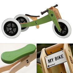 Wishbone Design Studio sustainable wooden bikes for kids (plus more great eco-friendly toy brands)