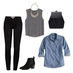 """""""Edgy Classic"""" by klfieldhouse on Polyvore"""