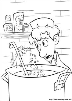 cool ratatouille-51 coloring page