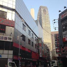 #tokyo in the morning today till this Friday I'll be. 仕事で東京に金曜まで