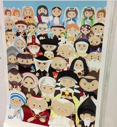 Three Ways to Invite the Saints to Your Catholic Classroom
