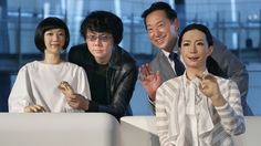 Japan's New Robot Museum Guides Are All Too Human [Future Robots: http://futuristicnews.com/category/future-robots/ Robotics: http://futuristicshop.com/category/robotics-books/ Home Robots: http://futuristicshop.com/category/robots/] #science #technology #robot