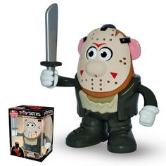 "It's The Mr Potato Head - Horror Icons - Friday the 13th Movie - Jason. Your favorite horror movies characters are getting the Mr. Potato Head treatment! This detailed figure stands 6"" tall and includ"