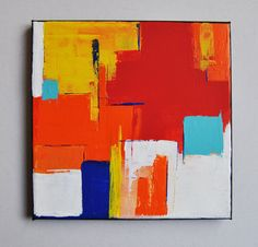 Abstract Art Paintings 559220478730246881 - Colorful abstract painting original painting, abstract art Source by lillaklebert Abstract Geometric Art, Contemporary Abstract Art, Abstract Drawings, Abstract Wall Art, Painting Abstract, Painting Art, Art Drawings, Art Painting Gallery, Art Folder