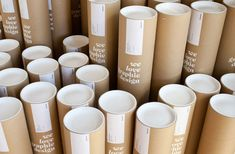 bisgraphic: they have created labels to use on pre-made shipping tubes.