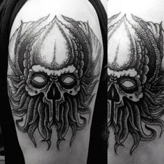 70 Cthulhu Tattoo Designs For Men - Masculine Ink Ideas
