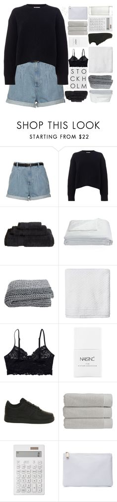 """SWEET BLOODED"" by trnslucid ❤ liked on Polyvore featuring Acne Studios, Superior, Frette, Simple Life, Monki, Nails Inc., NIKE, Christy, Muji and Jil Sander"