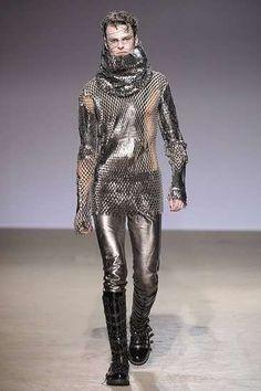 Sci-Fi Warrior Fashion at Gareth Pugh Fall 2009