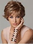 In order to style your short layered haircut into a festive hairstyle ...