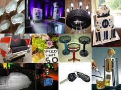 Put that roof down and feel the wind in your hair! This week's MINTerest features ideas for a car themed event or party #carthemeparty #wheels #cars #themintagency