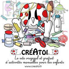 Le+nouveau+site+original+et+gratuit+d'activités+manuelles+pour+les+enfants