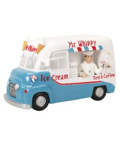 The Mr Whippy ice cream van has been an essential part of a day out at the beach. So, the story goes, the fairies saw this and wanted to share in the fun. http://fairiesfromscotland.co.uk/