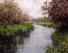 belas pinturas de Louis Aston Knight