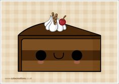 COMMISSION: Chocolate Cake by Cute-Creations on DeviantArt