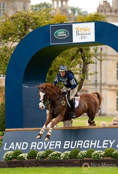Boyd Martin and Neville Bardos - Land Rover Burghley Horse Trials 2011 by Nico...., via Flickr