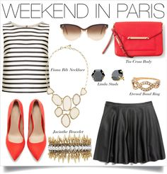 Ooh La La! This chic look will take you to Paris and beyond- www.stelladot.com/sites/stephaniehealey