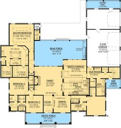 Plan W56367SM: Southern, Photo Gallery, Corner Lot, French Country, European House Plans & Home Designs
