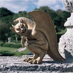 the gargoyles are always up to some kind of mischief