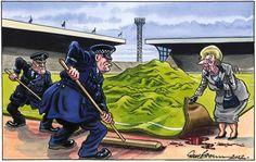 Hillsborough cover up. Liverpool Football Club, Liverpool Fc, Newspaper Cartoons, Premier League Soccer, Everton Fc, English Premier League, Human Rights, Joker, Fictional Characters