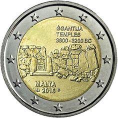 2€ cc Malta 2016 -Templos de Ggantija