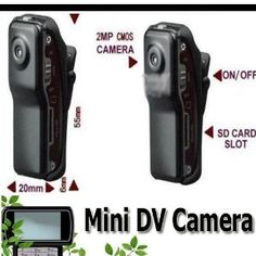 Mini Dv DVR Sports Video Camera Md80 Spy Cam 30fps Hd . $11.99. It has small contour design, which does UV spray finishing for the whole body. It is very fashionable and wearable and matches with all kinds of portable tools. Support PC camera and chatting function. Support AVI video format. It can carry out high definition image recording under low illumination. Support 30 fps for 720*480 and 320*240 video shoot and output. Support USB1.1 and USB2.0. Support 8GB T-fla...