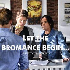 #pll #bromance #caleb #toby ❤