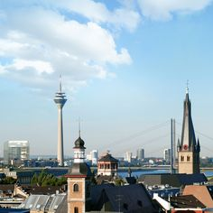 Discover Düsseldorf with your loved one. #28Ways #travel #TrueCapella