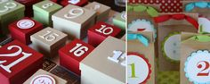 In Honor Of Design:   DIY Advent Calendars Part II