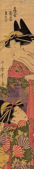 ❤ - Kitagawa Utamaro (1753 – 1806)