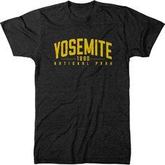 Yosemite National Park Mens Tri-Blend T-Shirt