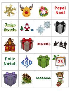 Ideias, dinâmicas, brincadeiras para a noite de Natal download jogo da memória para imprimir