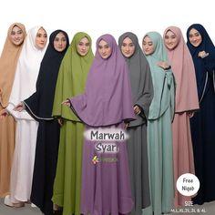 Marwah Syari by Friska Niqab, Dresses, Fashion, Vestidos, Moda, Fashion Styles, Dress, Fashion Illustrations, Gown