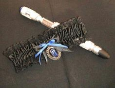 Doctor Who Wedding Garter ♥ .... Even though I would not have a full blown Doctor Who wedding, this could be my something blue. lol