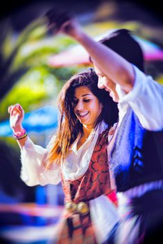 Greek Dancing, lucky enough to have seen this firsthand Greek Dancing, Greek Traditional Dress, Go Greek, People Of The World, Stunning View, Greek Islands, Beach Fun, Crete, Beautiful Islands