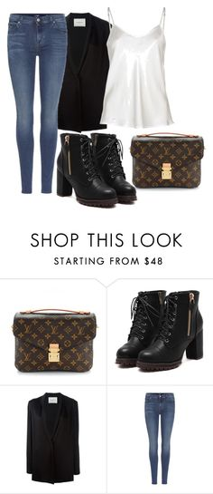 """jul."" by v-askerova on Polyvore featuring мода, Louis Vuitton, Lanvin и 7 For All Mankind"