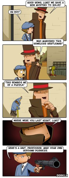 Professor Layton and the Dead Hobo