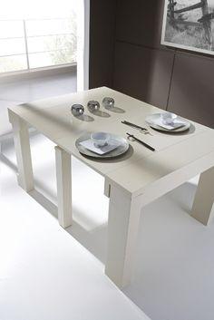 1000 images about mesas consola extensibles on pinterest - Consolas que se convierten en mesas de comedor ...