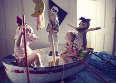 um desejo meu! Povoar o imaginario infantil em imagens absolutamente incriveis...