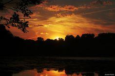 Morristown NJ   A perfect summer sunset