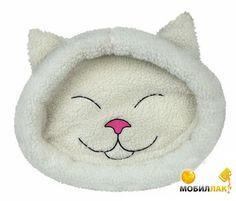 Trixie Лежак для кота Mijou 48*37см морда кошки крем